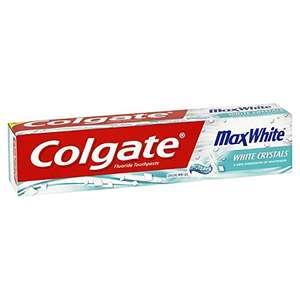Colgate Max White Crystal Mint Toothpaste, 125 ml (£1.40 or £1.20 with S&S) @ Amazon