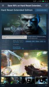 Hard Reset Extended Edition - 90% Off - Steam - 99p