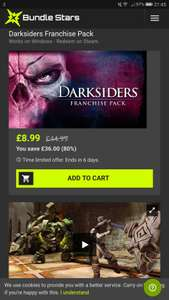 Darksiders Franchise Pack - Steam - 8.54 (With code BIRTHDAY5) - Bundlestars