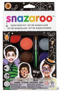 Snazaroo Halloween Face Paint Kit £4.99 Delivered @Argos Ebay **Low Stock**