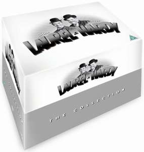 Laurel and Hardy The Collection 21 Disc DVD Zavvi with code CLEAR10 for £23.39