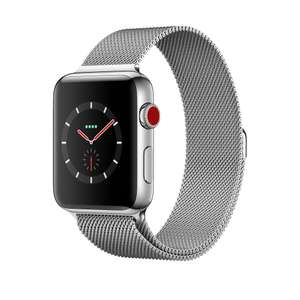 Apple Watch S3 Cellular 42mm - SS Case / Milanese Loop - £350 at Argos