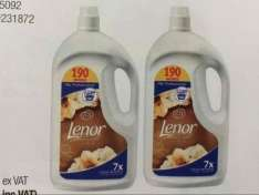 2 x 3.8 Litres (190 wash each) Lenor gold orchid fabric conditional £12 @ Costco warehouse