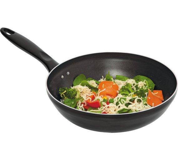 HOME 26cm Non-Stick Aluminium Stir Fry Pan - was £12.99 now £4.99 @ Argos
