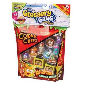 Grossery Gang Series 1 - 10 Pack £3.99 in store at home bargains