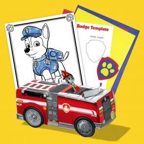 Lots of FREE Nickelodeon Printables inc Party Items for Paw Patrol / Blaze / Shimmer & Shine + Many More Characters - more links in OP