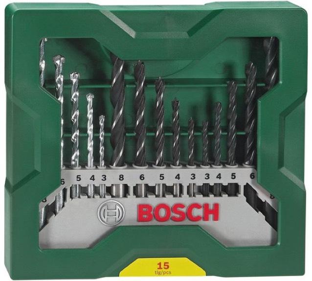 Bosch 15 Piece X-Line Drill Bit Set £6.59 @ Argos
