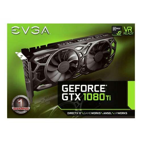 EVGA GeForce GTX 1080 Ti SC GAMING(Black Edition) £660.68 at  Ballicom