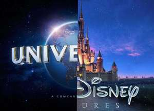 2017 DISNEY AND UNIVERSAL COMBO TICKET (Adults £529, 3-9yrs £509) American Attractions