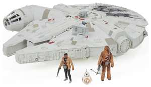 Star Wars: The Force Awakens Battle Action Millennium Falcon £49.99 from Argos on ebay