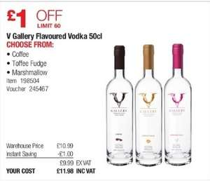 V Gallery Vodka 50cl (various flavours) - £11.98 (inc VAT) Instore @ Costco