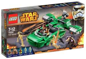 LEGO Star Wars Flash Speeder Playset - 75091 £18.99 from the Argos Shop on ebay