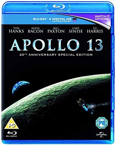 Apollo 13 - 20th Anniversary Edition [Blu-ray + UV Copy] = £4.49 (Prime) / £6.48 (non Prime) at Amazon