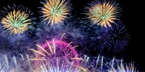 London New Year's Eve Fireworks 2017 - Tickets cost £10