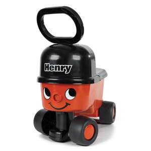 Hetty & Henry Hoover Walker / Sit N Ride Ons (was £20) now only £11.25 each @ Asda George