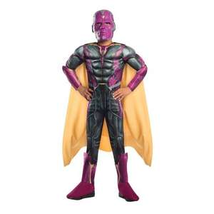 Small Marvel Vision Deluxe Costume £3 + P&P (Free to £4.99) smyths toys