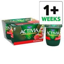 Activia 4 packs £1 at Tesco