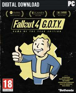 Fallout 4 GOTY PC - Steam £17.99 @ cdkeys.com