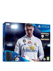 NEW CUSTOMERS ONLY - PS4 500GB with Fifa 18 £163.95 / 1TB £187.95 / Pro £283.95 with 20% off code - includes delivery from VERY - Extra Controller for additional £24