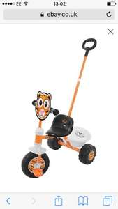 Chad Valley Zoomies My First Trike - Tiger free delivery £11.99 Argos Shop on ebay
