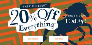 20% off everything at White Stuff