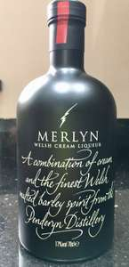 Merlyn (Penderyn Distillery) Welsh Cream Liquer - £10 at Asda