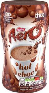 Aero Instant Hot Chocolate (288g) was £2.69 now £1.50 (Rollback Deal) @ Asda