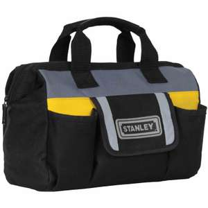 "Stanley 12"" Tool Bag Clearance Sale was £7.00 then £5.00 now ONLY £3.00 @ B & Q"
