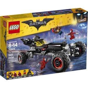 LEGO Batman Movie The Batmobile was £47.49 Save £9.89 now £37.60 @ Tesco Direct