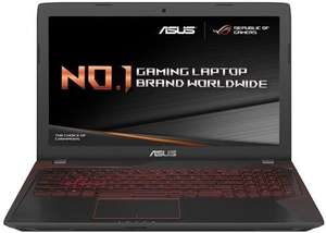 ASUS Gaming FX553VD-DM595T i7 ,128gb ssd,4gb 1050 gtx graphics at Saveonlaptps for £799