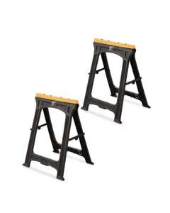 Workzone Folding Saw Horse 2 Pack, online only @ Aldi