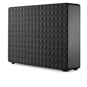 Seagate Expansion 4 TB USB 3.0 Desktop 3.5 inch External Hard Drive for PC, Xbox One and PlayStation 4 @ Amazon Prime & FREE Delivery in the UK.