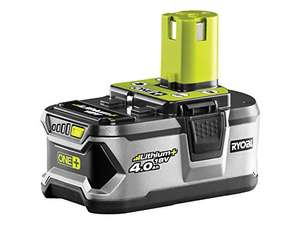 Ryobi RB18L40 ONE+ 4.0 Ah Lithium Battery, 18 V - £39.99 @ Amazon UK *BACK IN STOCK*