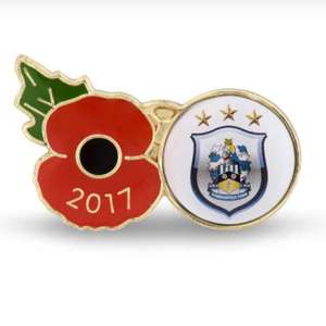 Premier league football poppy pin badges from official British legion shop £2.99 + £3.99 postage (free over £50)