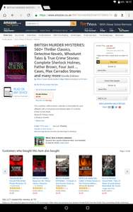 Kindle 560+ murder mystery titles 99p @ Amazon