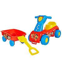 Paw Patrol Push 'n Scoot & Shovel Wagon Combo Set £15 Reduced from £20 @ George C+C