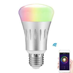 Alexa Compatible LED Smart Bulb 16 Million Colours - £9.83 @ Banggood