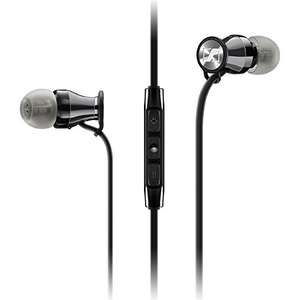 Sennheiser Momentum 2.0 In-Ear Headphones for iOS - Black/Chrome - £62.99 @ Amazon