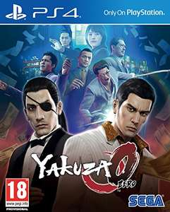 Yakuza 0 PS4 back on (due 15/12) £9.98 (Prime) @ Amazon