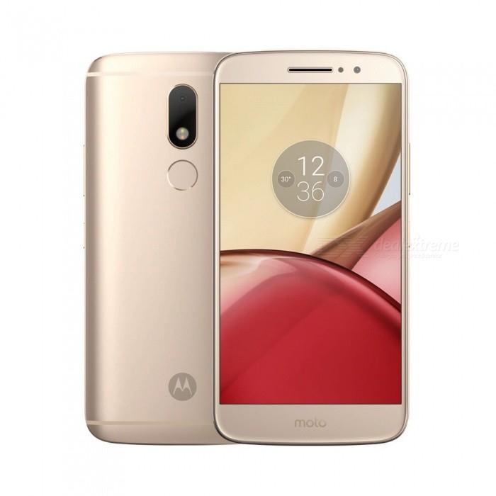 Motorola MOTO M Android 6.0 Smartphone w/ 4GB RAM + 32GB ROM - Golden - £124.63 @ DX.com