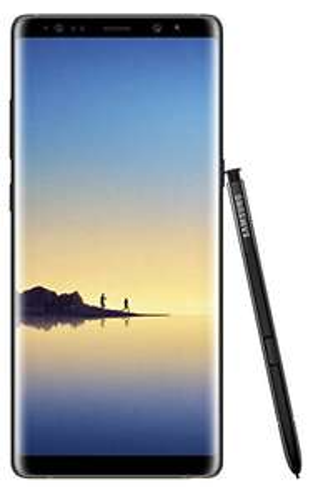 Samsung Galaxy Note 8 UK Sim Free Smartphone - Black (Single Sim) £824.10 @ Amazon