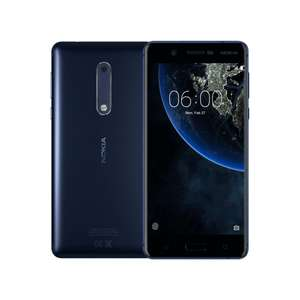 Nokia 5 16GB Dual Sim - Blue at Toby Deals for £129.99