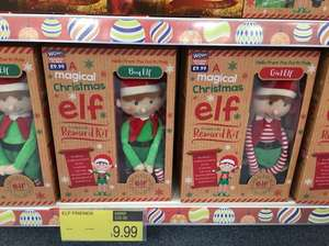 B&m Christmas elf boy & girl - £9.99