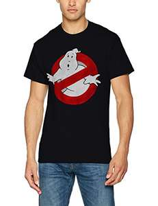 Brands In Limited Men's Ghostbusters Roundall T-Shirt (Black or Grey) From £4.25 @ Amazon (Add On Item)