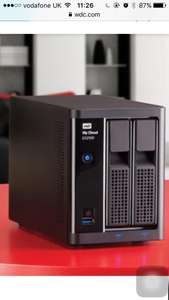 Wd my cloud ex2100  (recertified) only £104.99 @ WDC