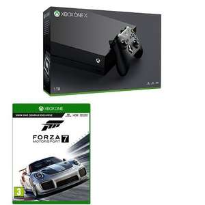 Xbox One X 1TB + Forza Motorsport 7 £459.98 @ Currys PC World