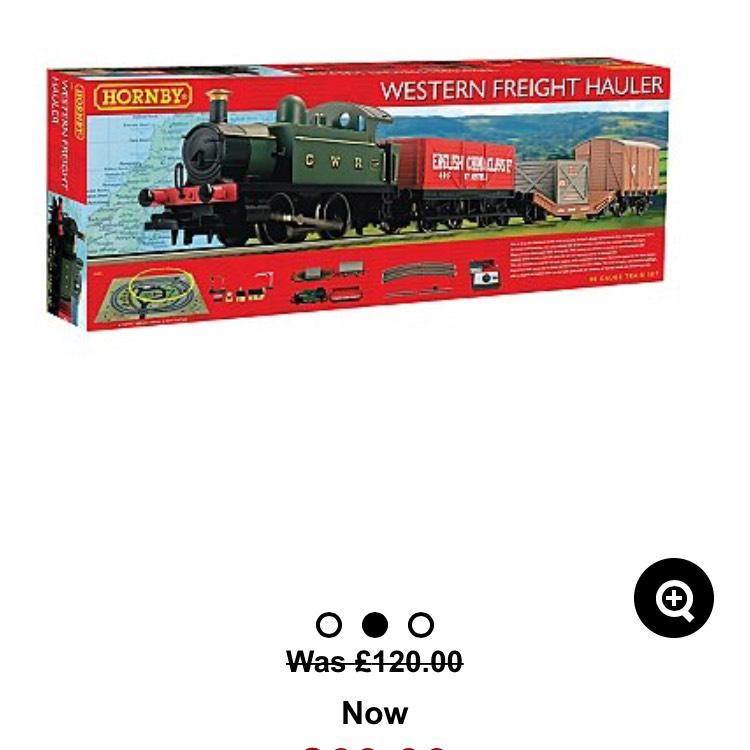Hornby Western Freight Set £60 - instore @ Asda (Edinburgh)