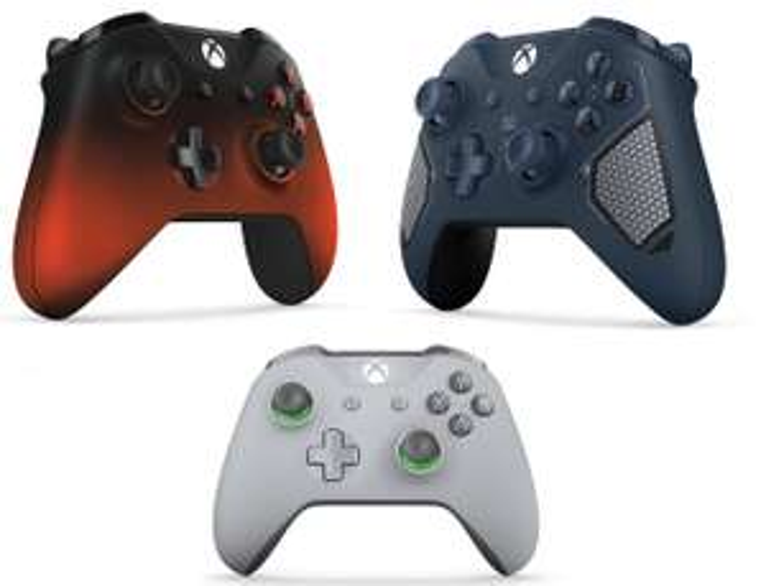 Xbox One Wireless Controller Special Edition - Volcano Shadow /  Patrol Tech / Grey/Green £41.85 each @ Simply Games