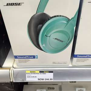 Bose soundtrue Headphones - £44.99 instore @ Argos (Co Durham)