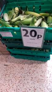 Whole Sweet Corn Cobs 20p each @ Morrisons